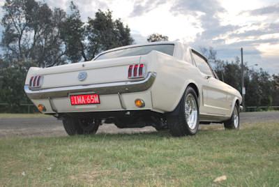 Muscle American Muscle Cars >> Chris & Pauline's 65 Mustang